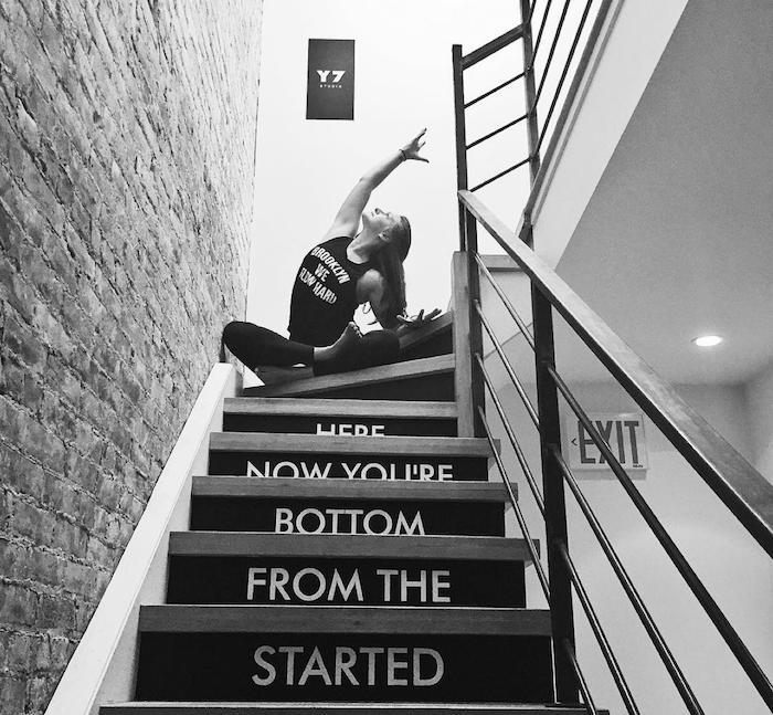 y7 stairs