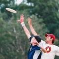 A 90 minute game of ultimate frisbee can burn more than 1,000 calories!
