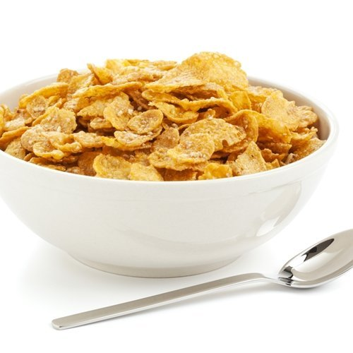 A bowl of cereal can often contain high levels of sodium.