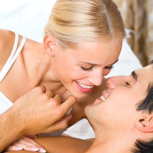 A healthy libido is the secret to a happy couple.
