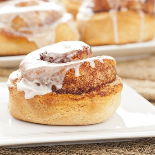 Cinnamon rolls are easy to put a vegan twist on.