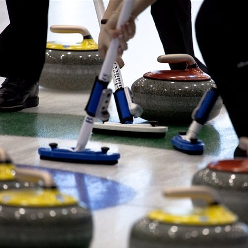 Curling is nothing to slouch at.