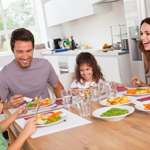 Dinners at home are a big key toward a healthy family.