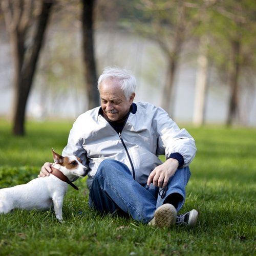 Dog ownership provides many health benefits for people of all ages.