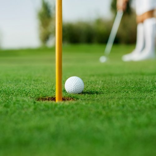 Golfing is good for your health and a perfect fall activity.