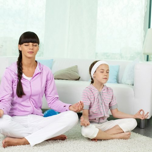 Kids can do yoga - here are some tips.