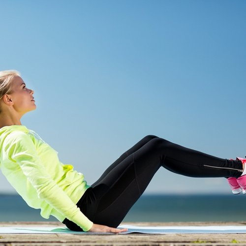 A strong core is the key to maintaining balance.