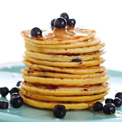 Bulk up your morning pancakes with a bit of protein powder