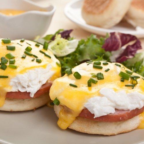 Eggs Benedict, Vegan style!