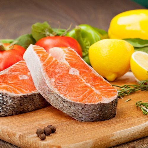 Fresh salmon is a strong component to the Paleo Diet.