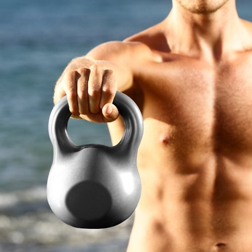 Get fit quickly with this kettlebell workout for men.