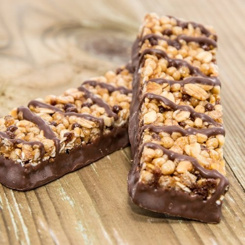 Make some easy no-bake protein bars for a quick and healthy on-the-go snack.