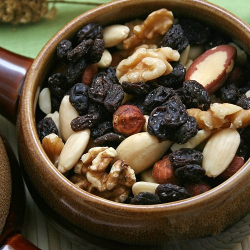 Make your own healthy trail mix for a long-lasting burst of energy.